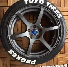 Nitto Tires With White Lettering >> Toyo Tires Proxes (FULL KIT) | TIRE STICKERS .COM