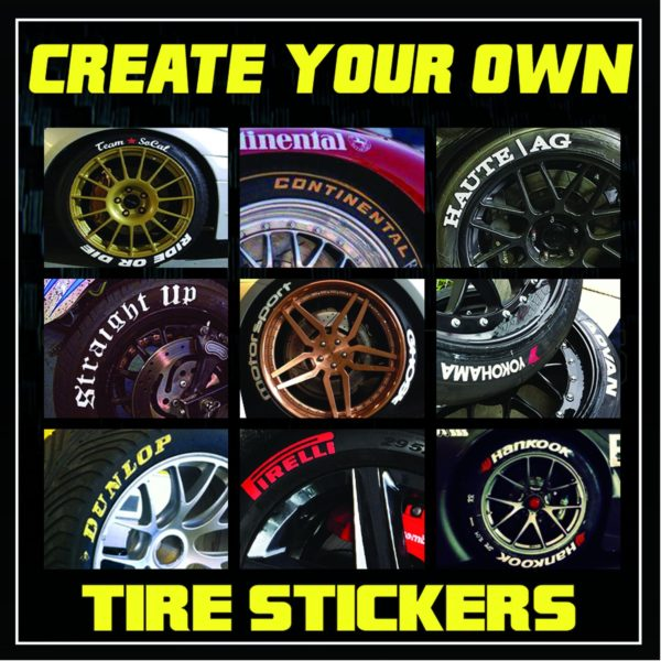 Tire Ratings Guide >> Create your Own | TIRE STICKERS .COM