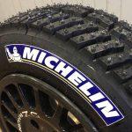 Blue Michelin Tires Logo