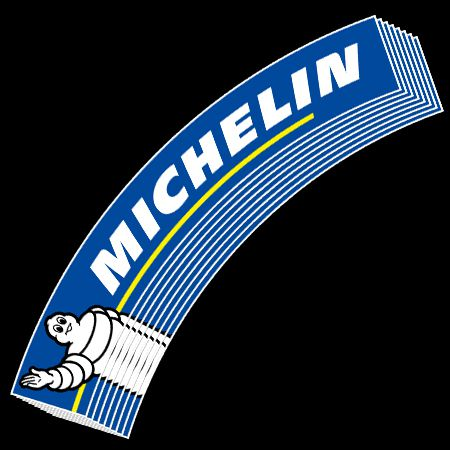 Michelin Logo Tire Stickers Official Tire Stickers Com
