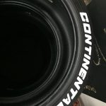 continental tire logo - tires sidewall white