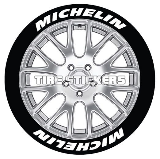 michelin tire stickers - 8 decals