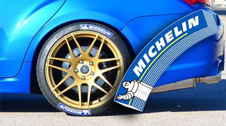 Michelin Tire Decals