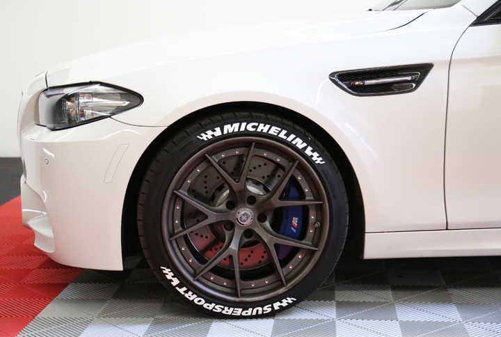 Michelin Tire Lettering Tire Stickers