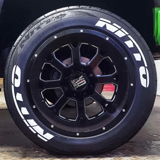 Nitto Tires With White Lettering >> NITTO Tire Lettering | TIRE STICKERS