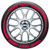 Tire Flares – Tire Graphics – red