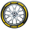 Tire Flares – Tire Graphics – yellow