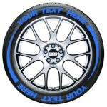 Tire Flares – Tire Graphics – blue