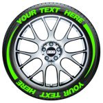 Tire Flares – Tire Graphics – green
