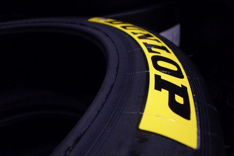 Dunlop Tire Stickers Yellow Tire Stickers Com