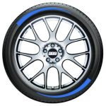 Tire Graphics - blue 1