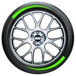 Tire Graphics - neon green1