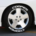 cooper tire sticker lettering