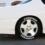 white tire lettering cooper tires
