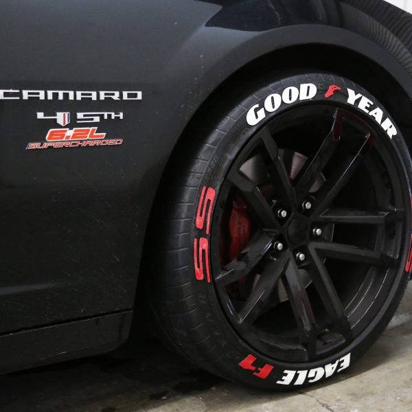 Tire Size Guide >> Top and Bottom Text On Tires | TIRE STICKERS .COM