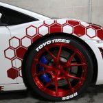 toyo r888 wite tire stickers