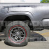 Red Line Tire For Trucks - Tire Stickers