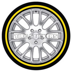 tire-stickers-yellow-gold-line-tire-tire-stickers