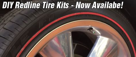 DIY redline tire kits