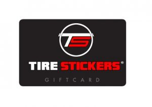 Tire Stickers Gift Card