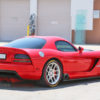 dodge viper - tire lettering