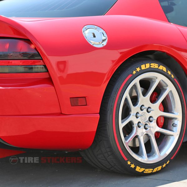 formula 1 kit - tire stickers