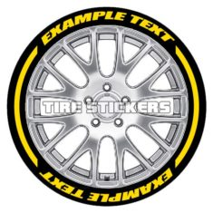 yellow tire letters - tire stickers-1