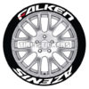 falken azenis red dash - tire stickers