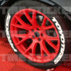 Super Stretched Tire Stickers - Toyo Tires Proxes
