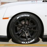 Chevy Camaro ZL1 - Tire Stickers - White Nitto NT555 tire lettering-7