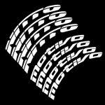 nitto motivo tire lettering