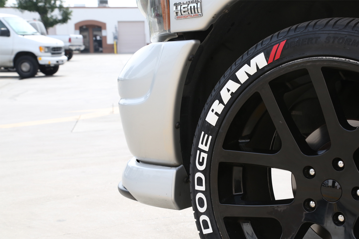 Dodge Mopar Tire Lettering Tire Stickers