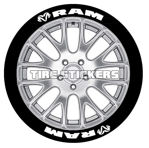 Dodge Mopar Tire Lettering