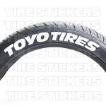 Toyo Tires - pre-lettered tires - rack-2