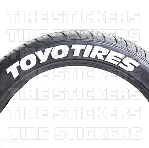 Tire Stickers Potenza 2018 2019 2020 Ford Cars