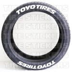 Toyo Tires - pre-lettered tires - rack-3