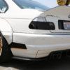 bmw white tire stickers - m series