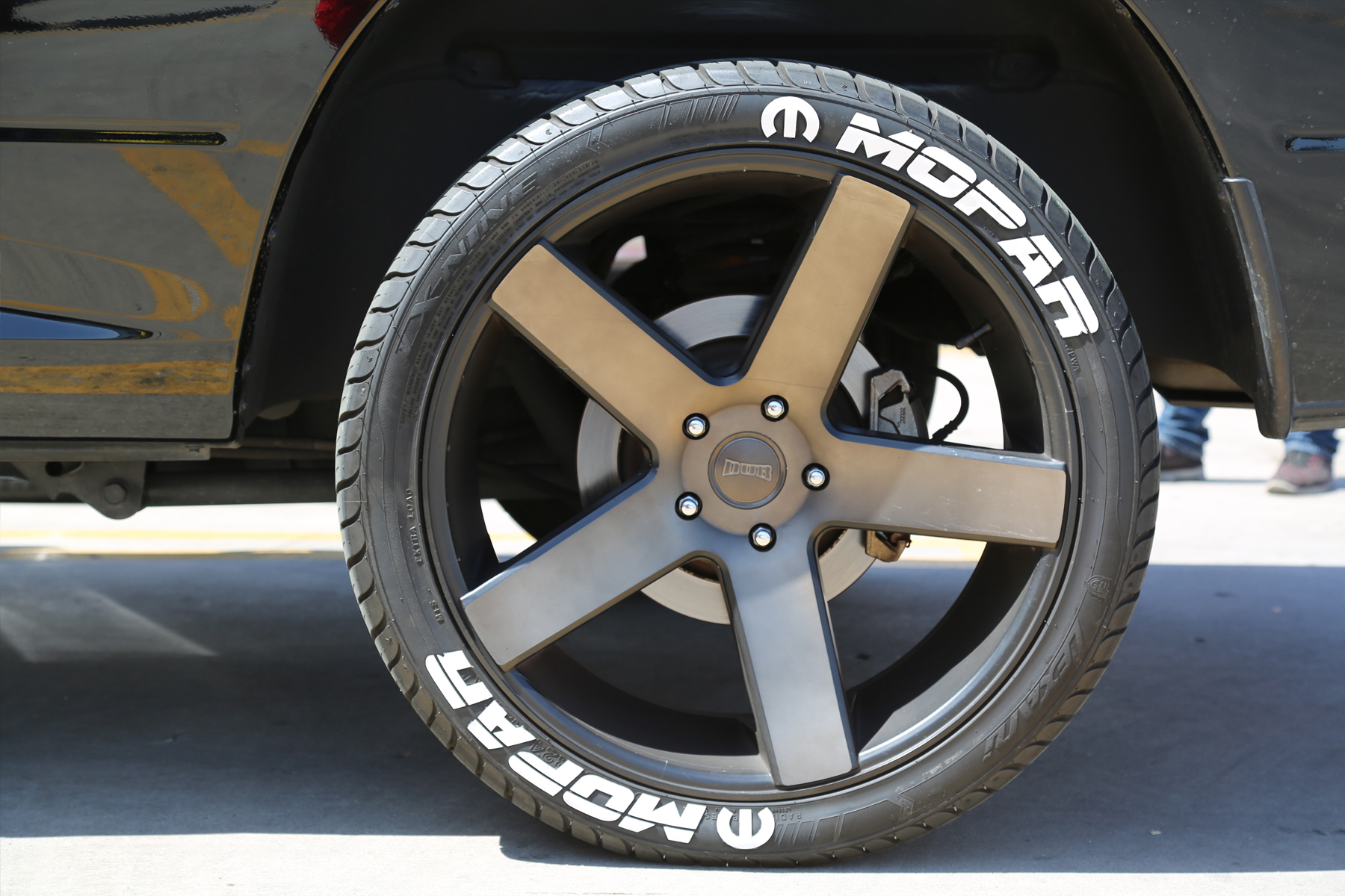 Mopar Tire Sticker Version 1 2 Tire Stickers Com