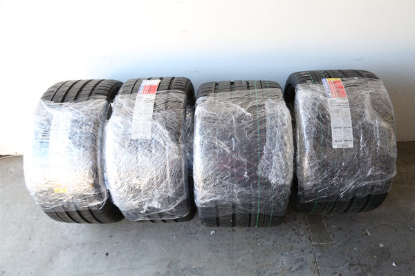 pre-packaged tires