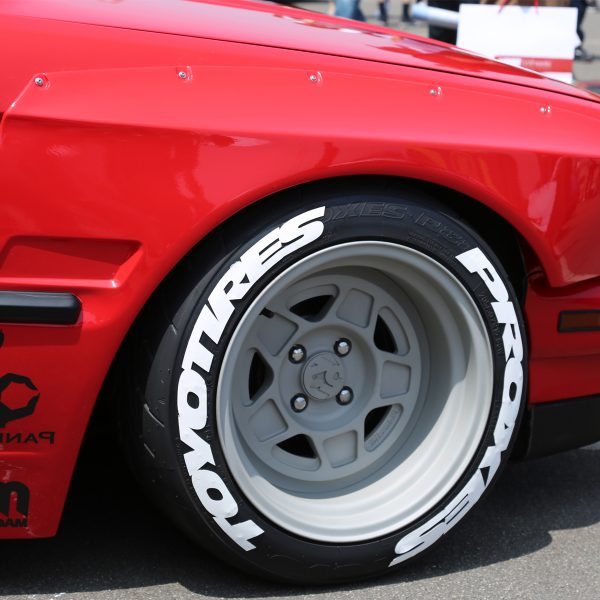 toyo tires proxes - tire lettering - white rubber