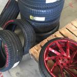 forgiato tyre decals - tire stickers