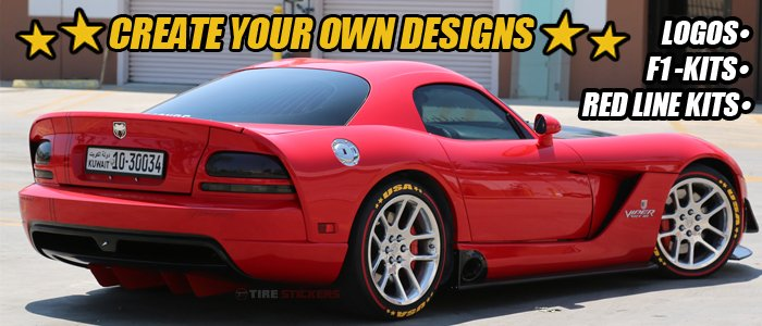 Create Your Own Tire Stickers -
