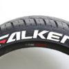 Falken - Red - Dash - Tire Stickers