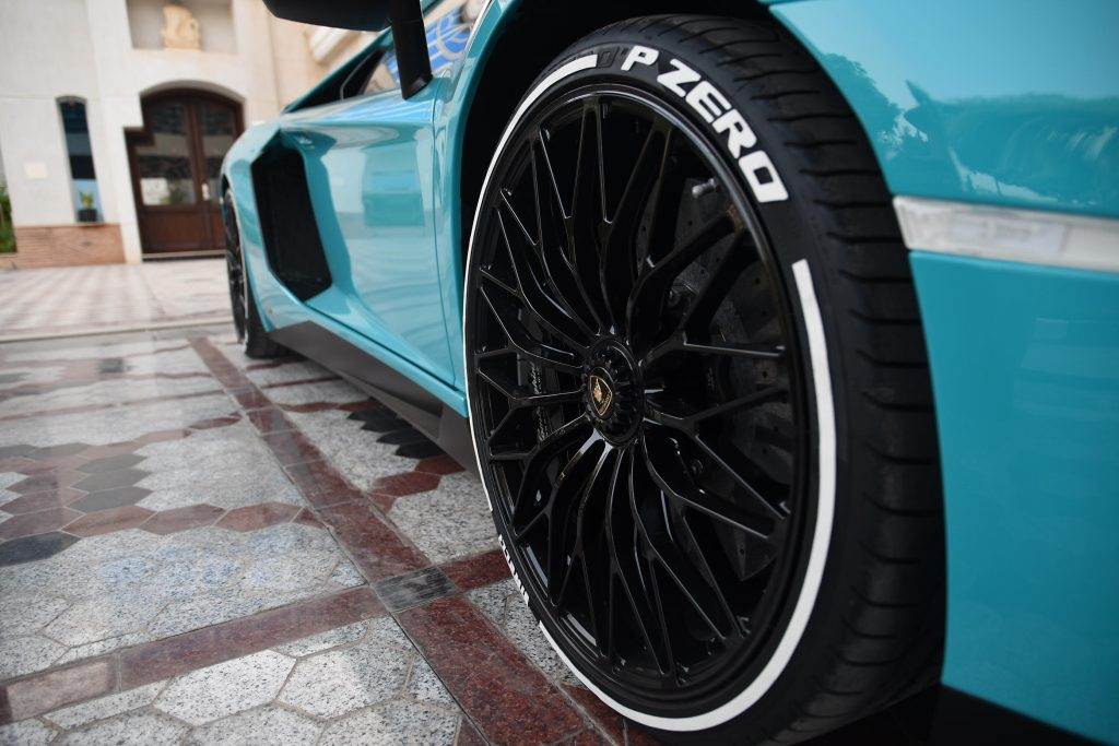 All Terrain Tires >> PIRELLI TIRE STICKERS - WHITE - LAMBORGHINI | TIRE ...