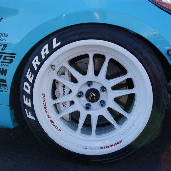 Federal 595 Rs R Racing Extreme Performance Tire Stickers Com