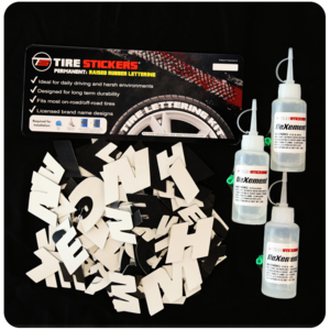 Individual Tire Letter Kit