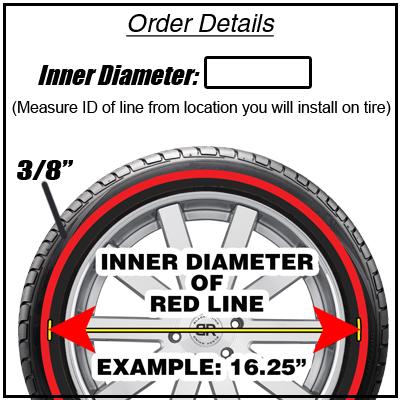 Redline Tire Rubber Ring Add-On