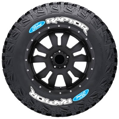 FORD_SVT_Raptor_tire_stickers_white