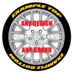 tire lettering text