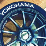 YOKOHAMA White Tire Lettering